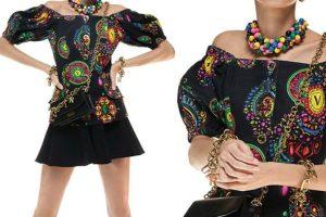 Alta dosis de color en la nueva colección de Versace Jeans Couture